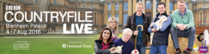 countryfile live 4-7 August Blenheim Palace