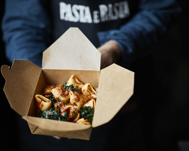 Pasta from our streetfood stall